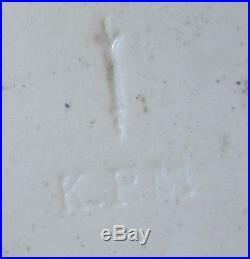 Antique KPM Miniature Painting Plaque MADONNA on Porcelain Hand Painted 19th cen