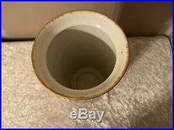 Antique KPM Porcelain 11 Vase Hand Painted Marsh Ducks Circa 1880's