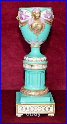 Antique KPM Porcelain Pedestal Urn