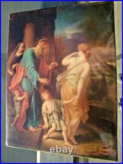 Antique KPM Porcelain Plaque