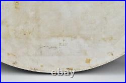 Antique KPM Porcelain Plaque Hand Painted Large 16.75 by 13.5