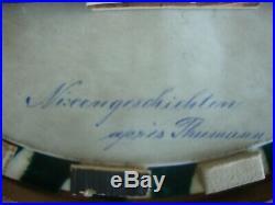 Antique KPM Porcelain Plaque Hutschenreuther