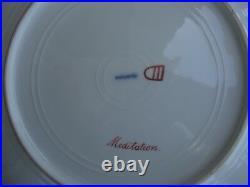 Antique KPM Royal Vienna Porcelain Portrait Plate Wagner MEDITATION