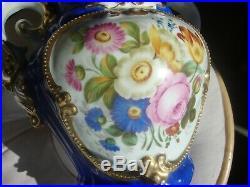 Antique KPM Sevres Porcelain Bronze Vase