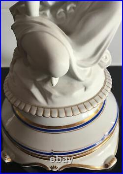 Antique KPM porcelain and bisque figurine circa 1848