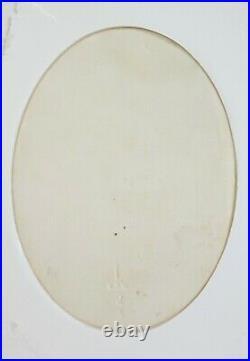 Antique KPM porcelain plaque handpainted portrait Mother & Baby Franz Till