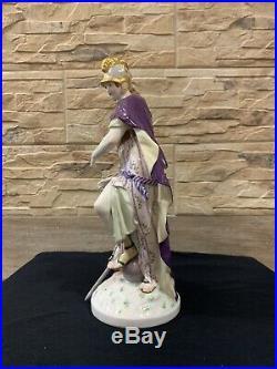 Antique Kpm Berlin Porcelain Group Figurine