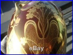 Antique Kpm Porcelain Royal Vienna Hand Painted Portrait Vase