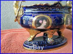 Antique Kpm Royal Vienna Porcelain Vase