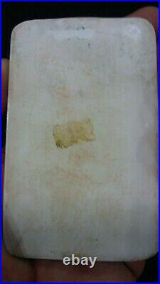 Antique Madonna Jesus Cherub Angel Porcelain Plaque KPM Quality