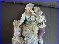 Antique Meissen KPM Porcelain Figurine