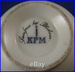 Antique Mid 19thC KPM Berlin Porcelain Scenic Cup Porzellan Szenentasse Scene
