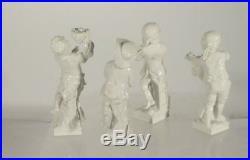 Antique Vintage German Porcelain Figures KPM style Berlin Scepter Mark