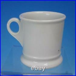 Antique Vintage KPM Germany Porcelain A CLOSE SHAVE Black Americana Shaving Mug