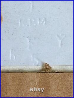 Antique kpm porcelain plaque Clotho 19c