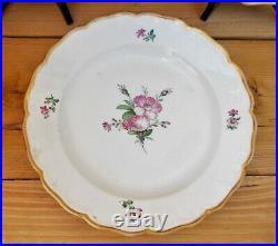 Antique porcelaine KPM Berlin six assiettes