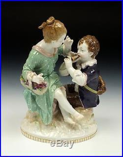 Beautiful 19th Century KPM Berlin Porcelain Statue / Figurine