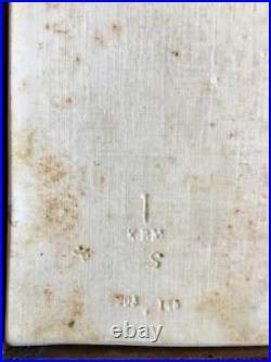 Beautiful Very Rare Antique KPM Berlin Ca. 1830 Porcelain Plaque Nude