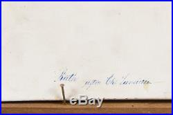 Berlin KPM Hand-Painted Porcelain Plaque Depicting Ruth, Circa 1900