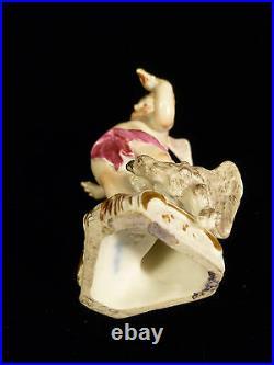 Fabulous 18th Century Signed Kpm Berlin Porcelain Cherub Figurine Circa 1770
