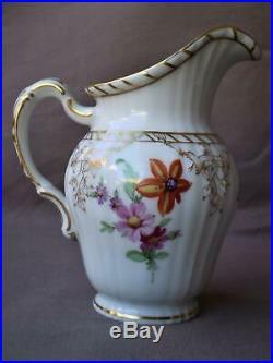 Fine Antique German Royal Berlin KPM Porcelain Gilt Hand Painted Coffee Service