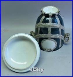 Fine Signed 19th C. KPM GERMAN Lidded Urn c. 1890 antique porcelain