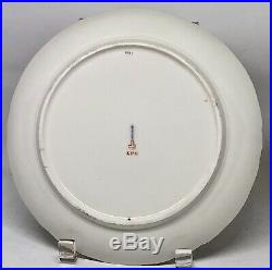 Four (4) Antique KPM Red Orb Mark Hand Painted Berlin Porcelain Fruit Plates