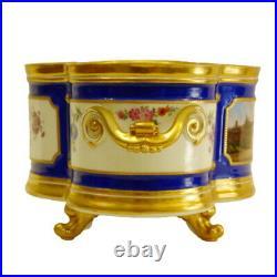 German Antique 19th CE KPM Porcelain Centerpiece
