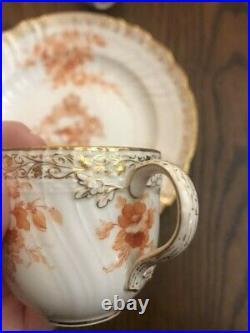 Germany KPM Berlin Kaiser Wilhelm II Porcelain Plate Cup 1808year