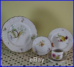Hand-painted 5-pc Place Setting kpm porcelain