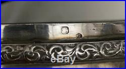 IMPORTANT French 950 Silver Box With KPM Porcelain Hand Paint Plaque On Top