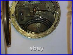 KPM- AD. Mougin- Porcelain Antique French/German Hand Painted Clock