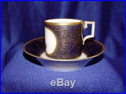KPM Berlin Cup of Cabinet Cup and Saucer 18. Jh Cobalt! Rare