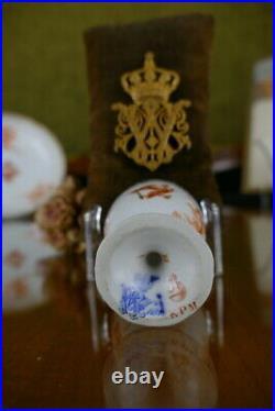 KPM Berlin Neuosier egg cup, Kaiser Wilhelm, antique porcelain, Porzellan