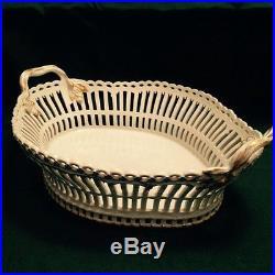 KPM Berlin Outstanding Large Pierced Centerpiece Bowl Ca. 1900