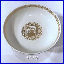KPM Egyptian Revival Gilt and Bisque Porcelain Compote Bowl
