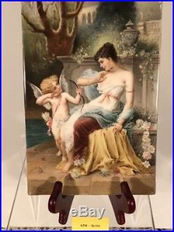 KPM Porcelain Picture SIGNED by Hans Zatczka