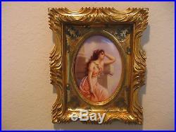 KPM Porcelain Plaque Beautiful Romantic Image