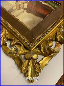 KPM Porcelain Plaque Depicting Medea After Nathaniel Sichel