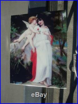 KPM Porcelain Plaque Naked Nude