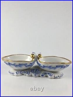 KPM Porzellan Antik Saliere Salzgefäss 1949-70 Biedermeier Porcelain Antique
