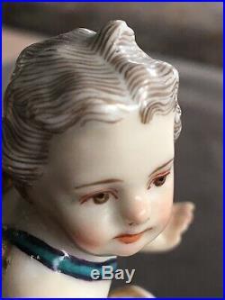 KPM Porzellan Figur Um 1800 Antik Salire Handbemalt Porcelain Antique 19thC