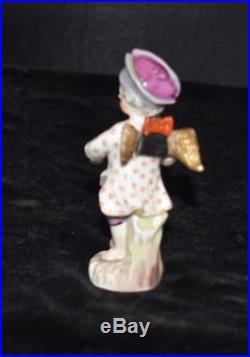 Kpm Berlin Germany Figurine Angel Sculpting Bust 3.75h -sceptre Mint