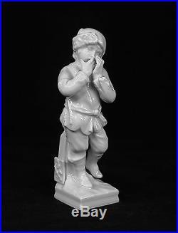 Kpm Berlin Germany Meyer Zodiac Aquarius Signs Porcelain Figurine