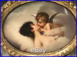 Kpm Style Porcelain Plaque Circa 1900