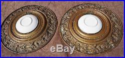 Pair German Porcelain Portrait Cabinet Plate Von Kaulback Dresden KPM 1890