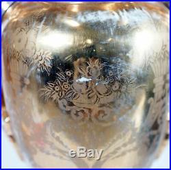 Pair Of Kpm Style Porcelain Vases