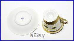 Porcelain cup and saucer. German factory Konigliche Porzellan Manufaktur (KPM)