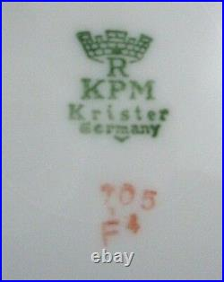 RARE ANTIQUE Royal KPM Krister 705 German 6Pc PORCELAIN Set COLLECTABLES Aust