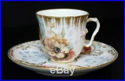 RARE & INCREDIBLE KPM Porcelain Bonnet Girl Cup and Saucer